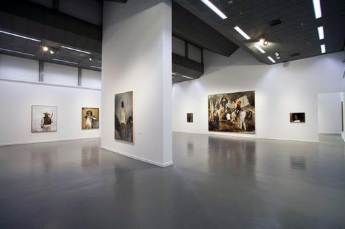 <i>Installation view, Kunsthalle Mannheim, Mannheim, Germany, 2008</i>,       <br />             <br />