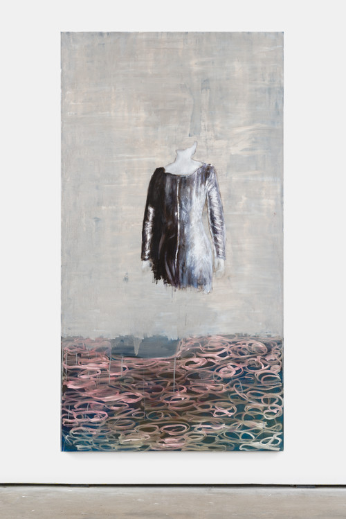 »Torso«,       2014<br />      oil on canvas,        290 x 155 cm<br />