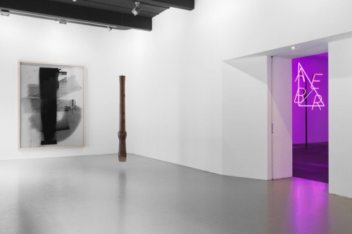 »Installation view, Kunsthalle St. Gallen, St. Gallen, Switzerland, 2013«, <br /><br />