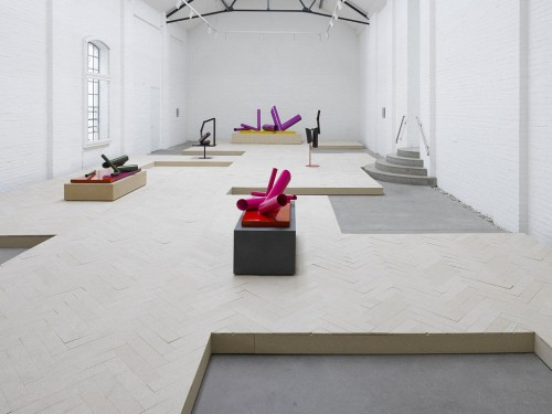 »Installation view, Kunstverein Galerie Münsterland, Emsdetten, Germany, 2013«, <br /><br />