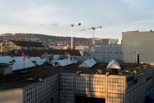 »Installation view, Maag Music Hall, Zurich, Switzerland, 2014«,       <br />             <br />