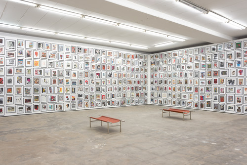»Installation view, Wentrup, Berlin, Germany, 2013«,       <br />             <br />