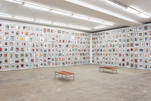 »Installation view, Wentrup, Berlin, Germany, 2013«, <br /><br />