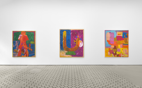 <i>Installation view: 'David Renggli: SUV Paintings', Wentrup Gallery</i>,       <br />             <br />