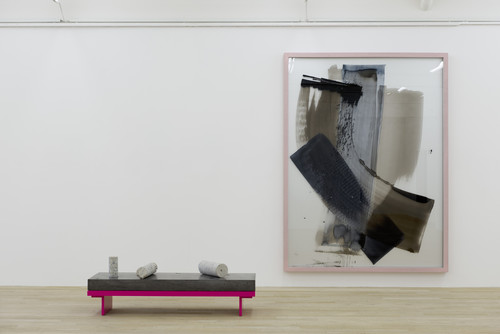 <i>Installation view, Galerie Peter Kilchmann, Zurich, Switzerland</i>,       2014<br />             <br />