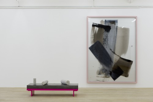 »Installation view, Galerie Peter Kilchmann, Zurich, Switzerland«,       2014<br />             <br />