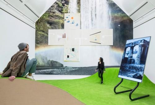 »Installation view, Schirn Kunsthalle, Frankfurt, Germany, 2016«, <br /><br />