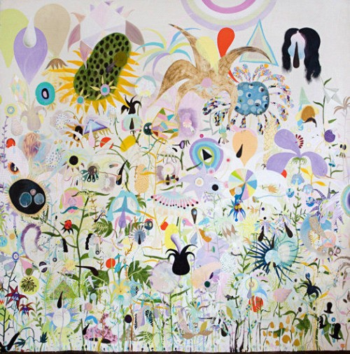 »From the serie: demorcracy needs monogamy«, 2010<br />Oil paint on canvas, 290 x 300 cm<br />