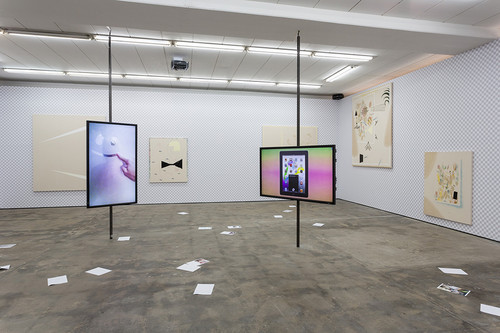 »Installation view Wentrup, Berlin, Germany, 2014«,       <br />             <br />