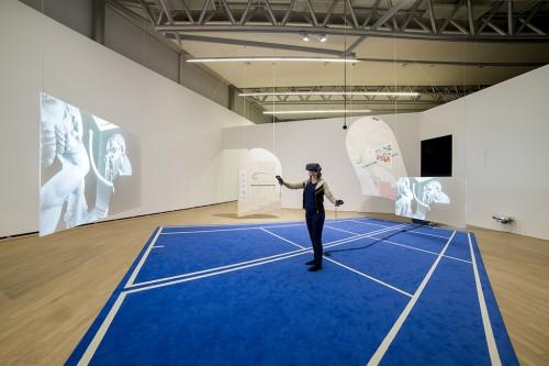 »Installation view, Henie Onstad Kunstsenter, Høvikodden, Norway, 2017«,       <br />             <br />