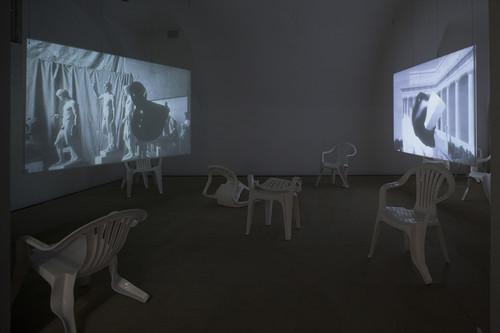<i>Installation view, Kunstpalais Erlangen, Erlangen, Germany, 2015</i>,       <br />             <br />