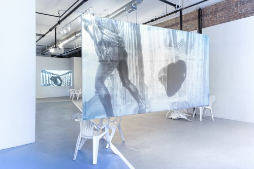 »Installation view Simone Subal Gallery, New York, USA, 2015«, <br /><br />