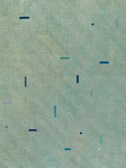 <i>trüb grau ins blau (detail)</i>,       2017<br />             <br />
