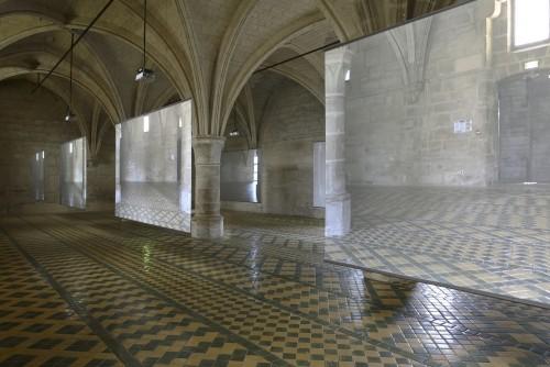 »Installation view, L'abbaye de Maubuisson, Saint-Ouen l'Aumône, France«,       2017<br />             <br />