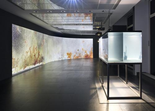 <i>Installation view, Frankfurter Kunstverein, Frankfurt, Germany</i>,       2018<br />      Copyright Frankfurter Kunstverein, Photo: Wolfgang Günzel,       <br />