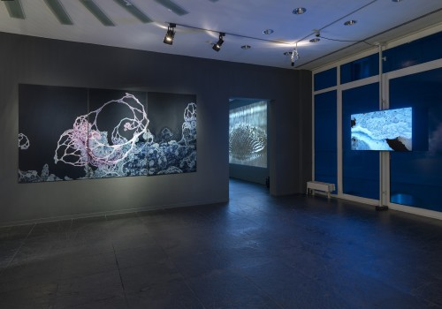 »Installation view, Frankfurter Kunstverein, Frankfurt, Germany«, 2018<br />Copyright Frankfurter Kunstverein, Photo: Wolfgang Günzel<br />