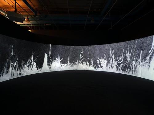 <i>Présage</i>,       2020<br />      Exhibition view Centre Pompidou, Paris, France, 2020,       <br />