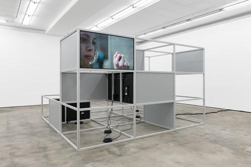 <i>Installation view, WENTRUP, Berlin, Germany, 2018</i>,       <br />             <br />