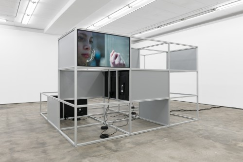 »Installation view, WENTRUP, Berlin, Germany, 2018«, <br /><br />