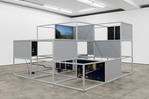 »Installation view, WENTRUP, Berlin, Germany, 2018«, <br /><br />