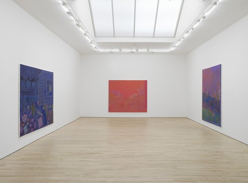 »Exhibition view, Carl Freedman Gallery, London, 2014«, <br /><br />