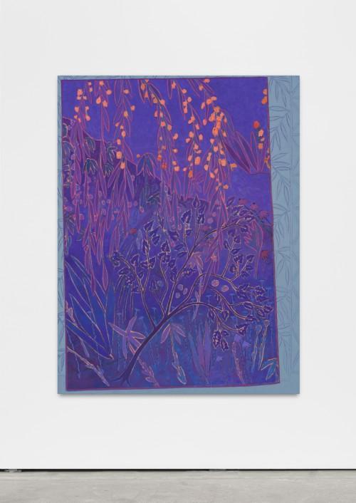 »sways soft clamoring«, 2016<br />oil on canvas, 150 x 115 cm<br />