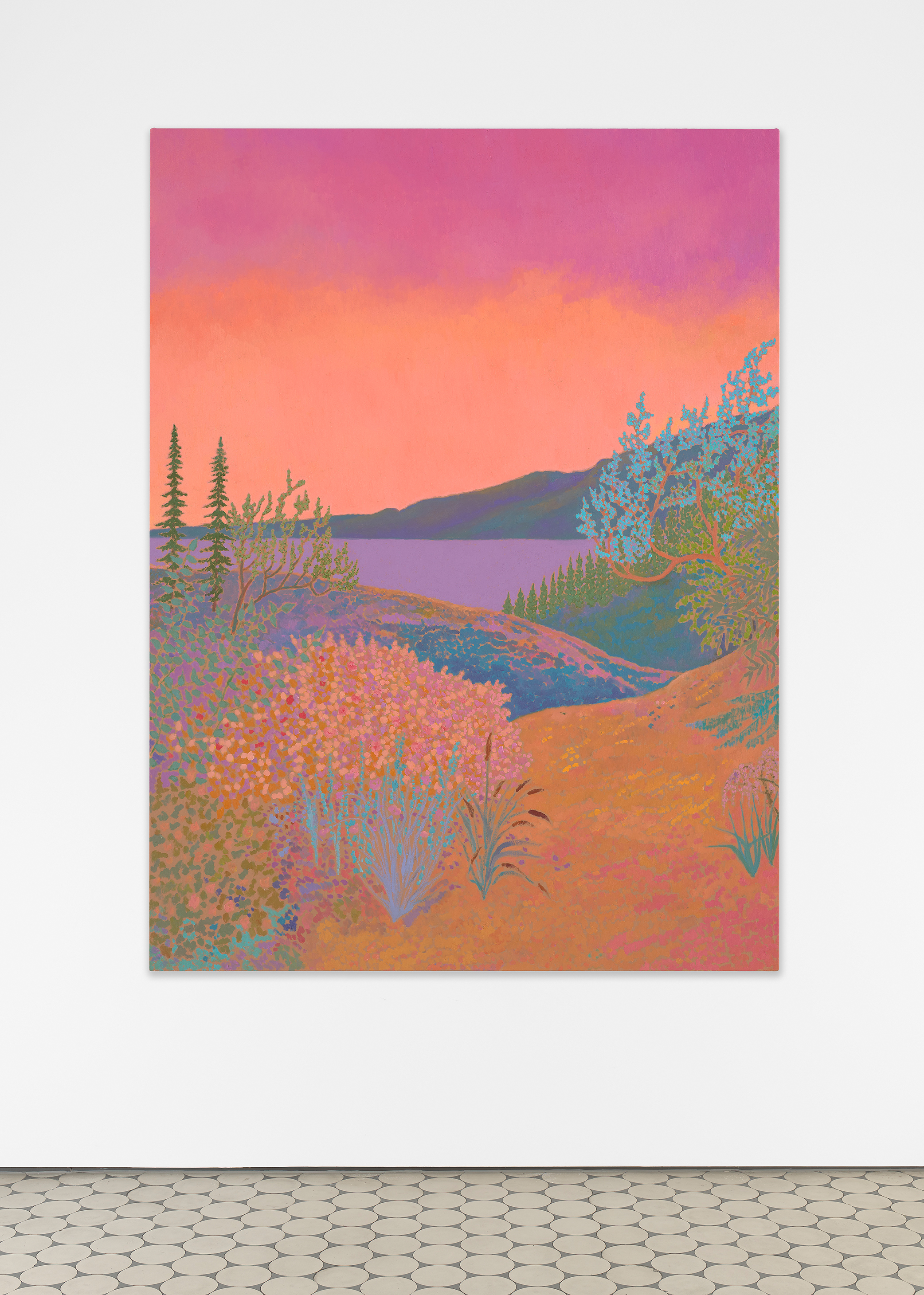 <i>bellows was ablaze</i>,       2020<br />      oil on canvas,        120 x 89 cm<br />