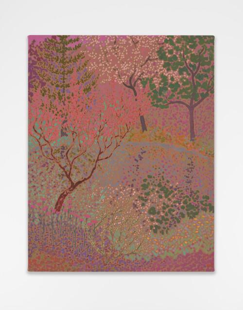 <i>silent seemed immense</i>,       2020<br />      oil on canvas,        58 x 46 cm<br />