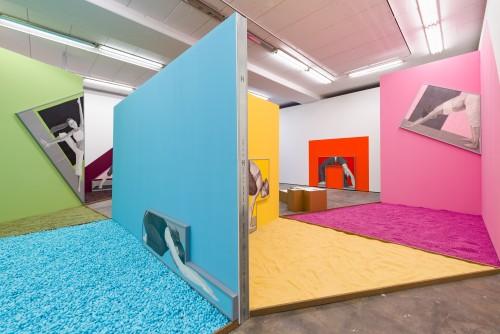 »Installation view, Wentrup, Berlin, Germany, 2016«, <br /><br />