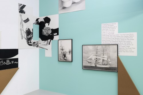 »A Slice through the World: Contemporary Artists' Drawings«, <br />installation view, Drawing Room, 2018<br />Photographer: Damian Griffiths