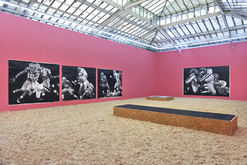 »Installation view, Yvon Lambert, Paris, France, 2013«,       <br />             <br />
