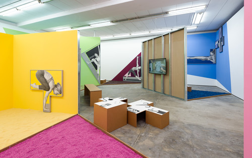 <i>Installation view, Wentrup, Berlin, Germany, 2016</i>,       <br />             <br />