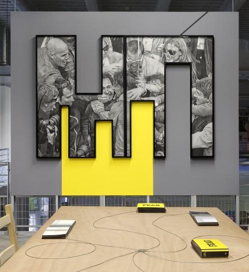 »Installation view, 12th Biennale de Lyon, France, 2013«, <br /><br />
