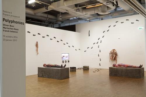 "»Of Scream Of Stone«, 2016<br />Installation ""Polyphonies"", Centre Pompidou, Paris, France, 2016<br />photo : Herve Veronese"