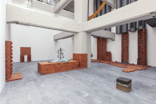 <i>Installation view 16th Istanbul Biennial, Turkey, 2019</i>,       <br />             <br />