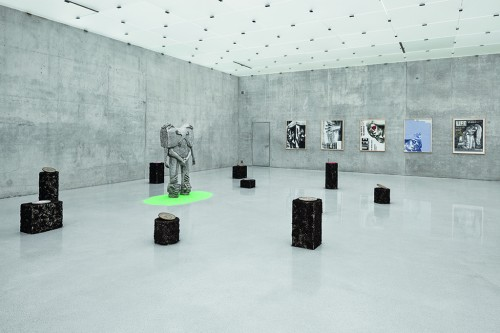 "»Statue for Gesticulation«, 2010<br /><br />Installation view ""Love is colder than capital"", Kunsthaus Bregenz, Bregenz, Austria, 2013"