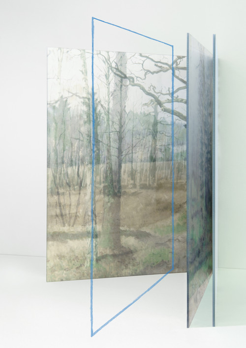 <i>linie.gegenteil</i>,       2018<br />      Pigment Print,        44 x 31 cm<br />