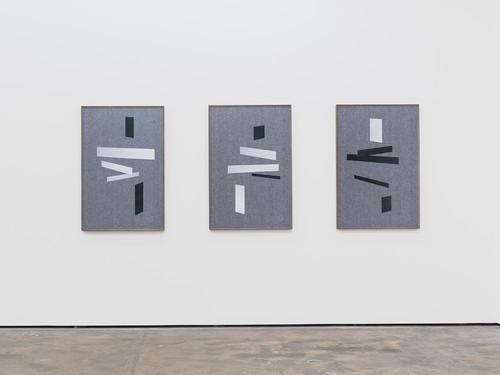 <i>Laying I – III</i>,       2015<br />             <br />      Installation view, Wentrup, Berlin, Germany, 2015