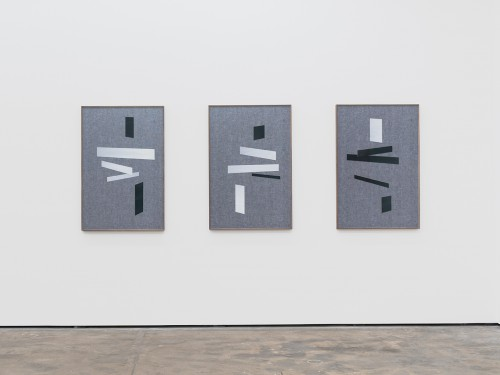 »Laying I – III«, 2015<br /><br />Installation view, Wentrup, Berlin, Germany, 2015