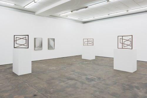 »Installation view Wentrup, Berlin, Germany, 2015«, <br /><br />