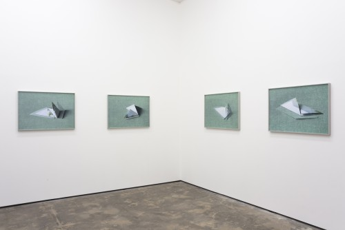 »Installation view Wentrup, Berlin, Germany«, 2013<br /><br />