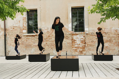 <i>Raise the Roof (Venice)</i>,       2017<br />      Performance, 57th International Exhibition of La Biennale di Venezia, Venice, Italy, 2017,       <br />