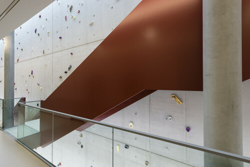 <i>Leaning Wall</i>,       2014<br />      Imprints of female and male body parts cast in colour-glazed Meissen porcelain,        various sizes<br />      Permanent site specific installation at Robert Koch Institute, Berlin, Germany