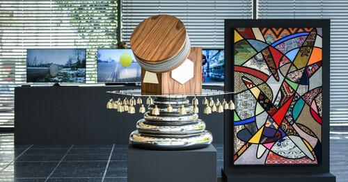 <br />             <br />      Exhibition view 'Sculpture 21st: Nevin Aladağ', Lehmbruck Museum, Duisburg 2021 © VG Bild-Kunst, Bonn 2021, Foto: Frank Vinken