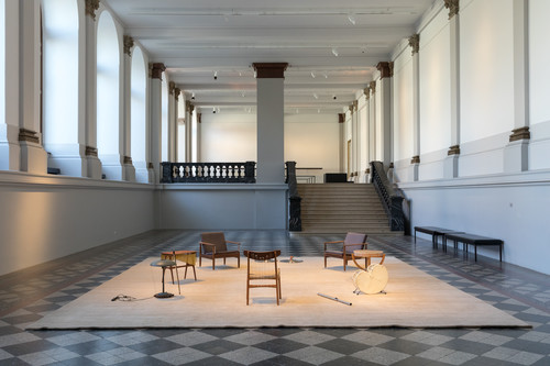 <i>Music Room, Brussels</i>,       2015<br />      Installation view Albertinum, Dresden, Germany, 2018,       <br />