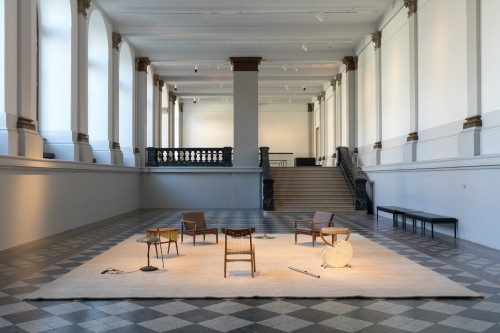 »Music Room, Brussels«,       2015<br />      Installation view Albertinum, Dresden, Germany, 2018,       <br />