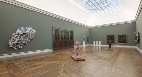 »Exhibition view, Hans von Marées Saal, Neue Pinakothek, Munich, 2015«, <br /><br />