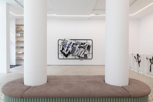 <i>Installation view Wentrup, Berlin, Germany, 2019</i>,       <br />             <br />