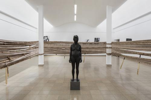 <i>Installation view, Museum of Art Ein Harod, Kibbutz Ein Harod, Israel</i>,       2018<br />      Photo: Elad Sarig,       <br />