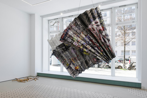 »King Kong Theorie«,       2019<br />      alternate view,       <br />      Installation view Wentrup, Berlin, Germany, 2019